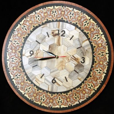ساعت معرق نفیس دستساز