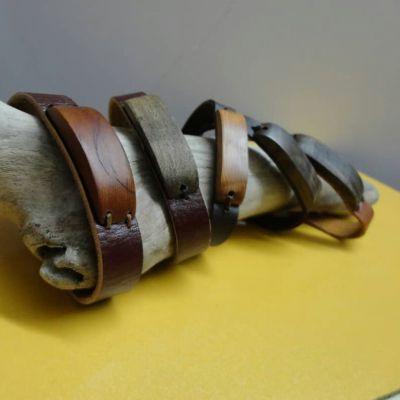 دستبند چوبی مردانه