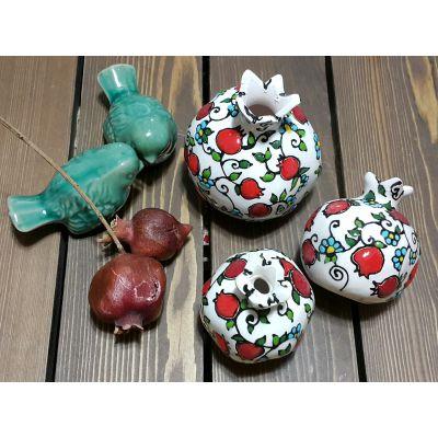 انار سنتی، طرح گل و انار