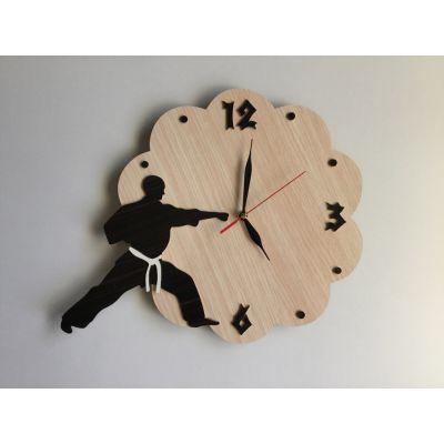 ساعت دیواری طرح رزمی ( چوبی و دستساز )