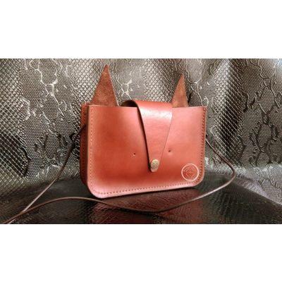 کیف چرم یکطرفه فانتزی