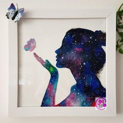 تابلو ویترای کهکشانی