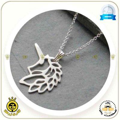 مدال گردنی یونیکورن اوریگامی