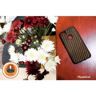کد ۱۱- قاب موبایل شماره دوزی شده با طرح راه راه مناسب برای گوشی Iphone 7, Iphone 8