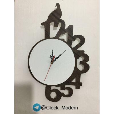 ساعت دیواری طرح کبوتر