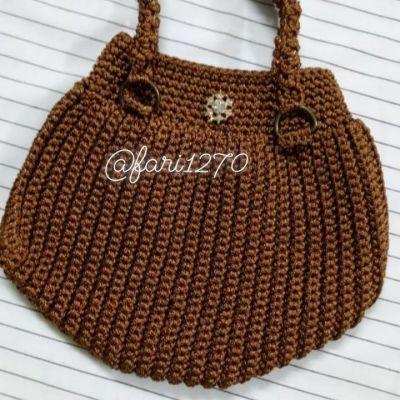 کیف مکرومه