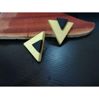 گوشواره طرح مثلث