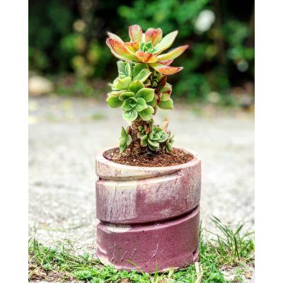 گلدان استوانه مارپیچ