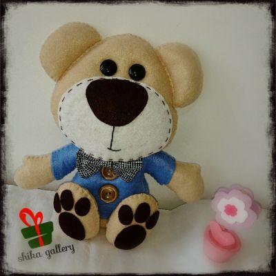 عروسک نمدی تدی