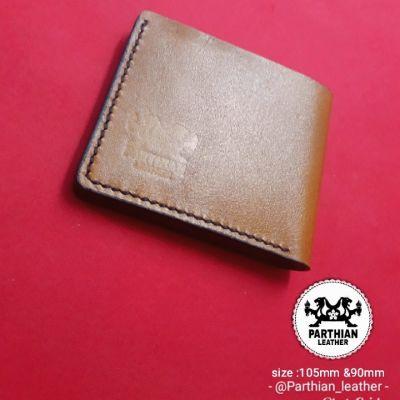 کیف پول مردانه چرم طبیعی (گاوی)