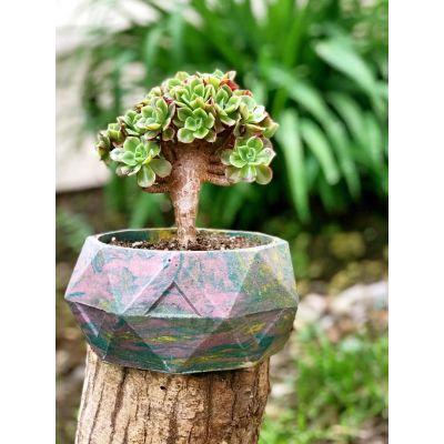 گلدان پلیمری