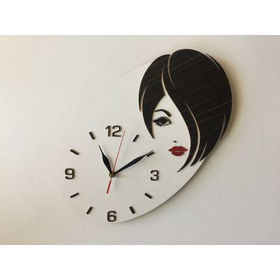ساعت دیواری دستساز برای آرایشگاه زنانه
