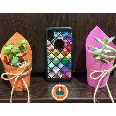 کد ۱۳۹- طرح رنگینکمون? مناسب گوشی Iphone x