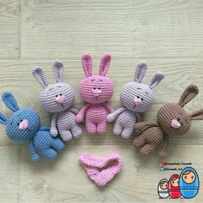 خرگوش بامزه