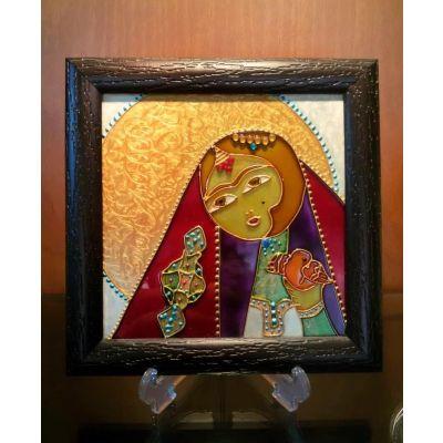 تابلوی نقاشی دختر آفتاب