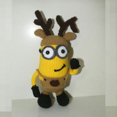 عروسک مینیون کریسمس