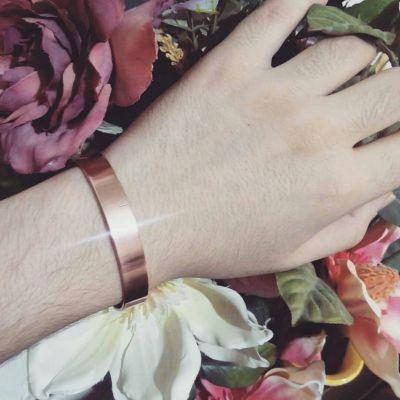 دستبند مسی . یک سانت