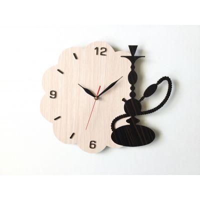 ساعت دیواری طرح قیلون مناسب قهوه خانه ها
