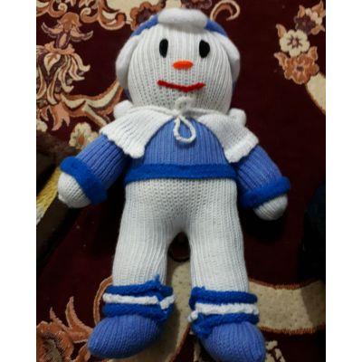 عروسک مرد یخی