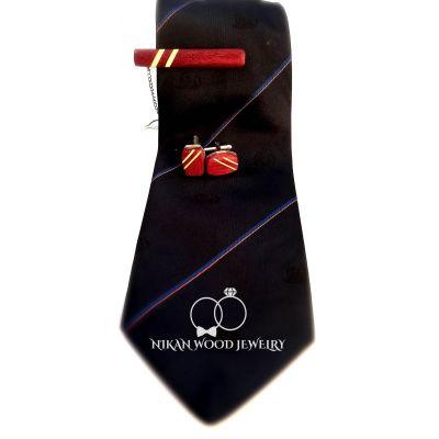 ست دکمه سردست و گیر کراوات